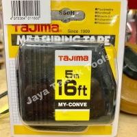 Meteran Tajima My Conve 5 meter Myconve Auto Lock Kunci Otomatis