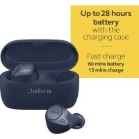 Jabra Elite Active 75t True Wireless Earphone with Charging - Navy