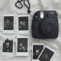 Jasa Cetak Print Polaroid Instax Fujifilm Asli Plain / Motif