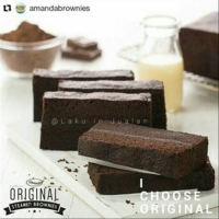 Bolu Kukus Amanda Brownies Original