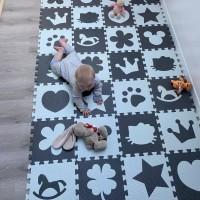 Evamat motif kartun / matras karpet alas lantai anak / eva mat cartoon