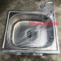 PAKET KOMPLIT Bak sink cuci piring cuci tangan portable KAKI DAN KRAN