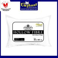 Bantal Kepala Silikon Hotel Elephant / Hollow Fibre
