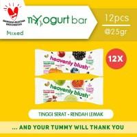 Heavenly Blush Tummy Yogurt Bar Berries dan Lime [12 Pcs x 25Gr]