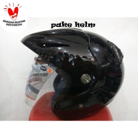 HELM INK CX 22 SPORT HITAM GLOSSY CX22