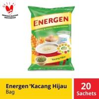 Energen Kacang Hijau Bag 20 Sachet @31 Gr