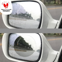 Anti Fog Embun Hujan Gores Mika Film Kaca Spion Mobil Motor