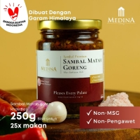 Sambal Matah Goreng Khas Bali (250gr) - Medina Catering