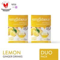 Singabera Premium Lemon Ginger (Jahe Lemon) - 2 box @ 12 sachet
