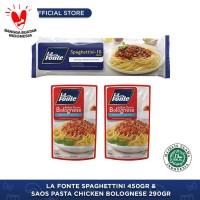 La Fonte - Paket Keluarga Spaghettini Chicken Bolognese