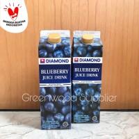 Diamond Blueberry Juice / Jus Blueberry Diamond - 1 Pcs