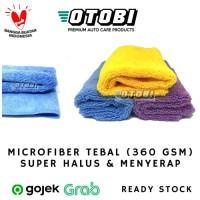 Microfiber Super Halus Tebal 360 GSM 35x35 cm Kain Lap Detailing Mobil