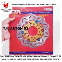 PIRINGAN CAKRAM DISC DEPAN BEAT FI VARIO 125 150 SCOOPY RIVEST CNC