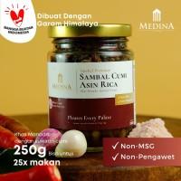 Sambal Cumi Asin RIca Autentik Khas Manado (250gr) - Medina Catering