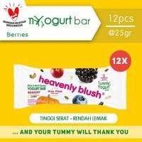 Heavenly Blush Tummy Yogurt Bar Berries 12Pcs @25gr