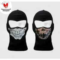 Masker Ninja Motif Tengkorak Murah Berkualitas