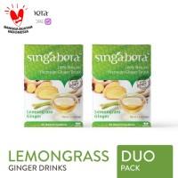 Singabera Premium Lemongrass Ginger (Jahe Sereh) - 2 box @ 12 sachet