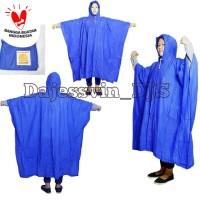 Jas Hujan Ponco Gajah Elepahat Raincoat Mantel Poncho Gajah MEDIUM 210