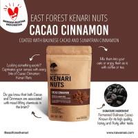 East Forest Kenari Nuts Cacao Cinnamon 80 Gr - Kacang Kenari Coklat