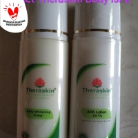 Paket Theraskin Body Whitening Prima +AHA Lotion 10 % - memutihkan