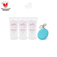 Set of 3 Skin Brightening Cream free mirror
