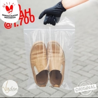Plastik Klip/Ziplock | Sepatu | Packaging | 30 x 38cm Pegangan | 10pcs