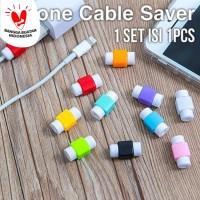 Cable Protector Pelindung Kabel Charger HP Aneka Warna