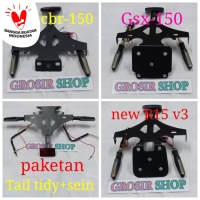 tail tidy cbr 150 ninja 250 r15 v2 gsx 150 new r15 v3 r25 mt25 cbr 250
