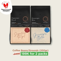 2 Packs Coffee Grounds/Beans