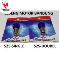 S25 Autovision Microzen Natural Bohlam Rem Sen Senja Lampu Mobil Motor