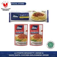 La Fonte - Paket Keluarga Spaghetti Chicken Bolognese