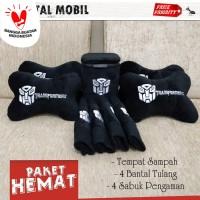 PAKET HEMAT BANTAL MOBIL TRANSFORMER / AKSESORIS MOBIL ROBOT- PAKET A