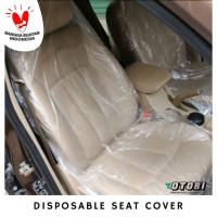 Seat Cover Plastic Jok Mobil Plastik Sarung Transparan Showroom Auto