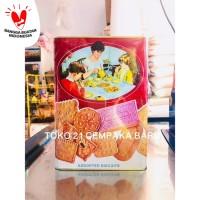 Khong Guan Biskuit Kaleng MERAH 1600 gram | Khong Guan Murah 1600g 1.6