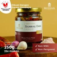 Sambal Embe Autentik Khas Bali (250gr) - Medina Catering
