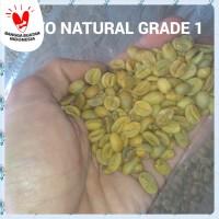 KOPI ARABICA GAYO NATURAL GREEN BEAN GRADE1