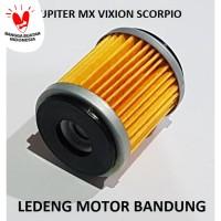 Saringan Filter Oli MX Jupiter Z Vega ZR Scorpio Lama Vixion Bukan ORI