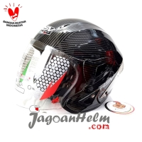 RSV HELM WINDTAIL   CARBON CLEAR   WITH PET + SPOILER