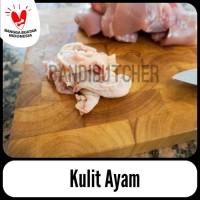 Kulit Ayam / Chicken Skin Murah Berkualitas Segar Grosir Bandi Butcher