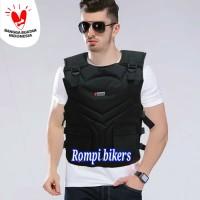 Rompi motor / bikers / tutup dada model army