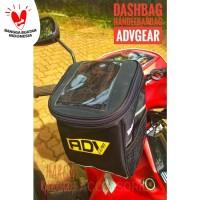 Tas Motor dashbag ADV GEAR bisa selempang Free Rain Cover PROMO!!!