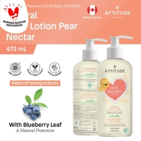 Attitude - Krim Bayi - Nat. Body Lotion - Pear Nectar - 473mL