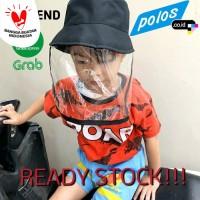 READY STOCK!!! Topi Anti Ciprat Corona / Topi Pelindung Wajah Anak