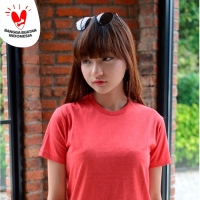Kaos Polos Koze Combed 30 s ( Misty Comfort Red )