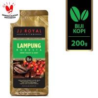 Coffee/Kopi JJ Royal Lampung Robusta Bean Bag 200g