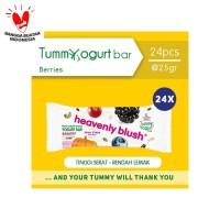 Heavenly Blush Tummy Yogurt Bar Berries Twin Pack [24 x 25gr]
