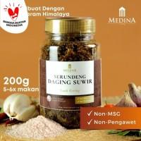 Serundeng Daging Suwir 200gr - Medina Catering