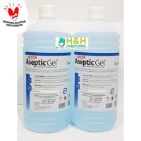 Aseptic Gel Refil 1 liter/Hand Sanitizer/Aseptic Gel Onemed/Antiseptik