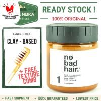 No Bad Hair Creamy Clay Original Lokal Murah Pomade