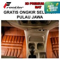 Karpet Mobil 3D Custom FRONTIER CITY  MANUAL 2013 - 2015